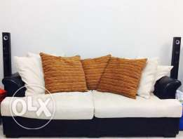 3 seater and 2seater sofa in a very good condition