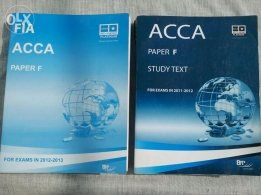 ACCA textbook & revision kit