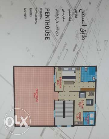 New town house in Jaran complex for rent السيب -  3