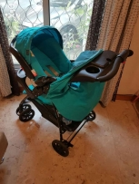 Graco Mirage+ Used stroller and car seat