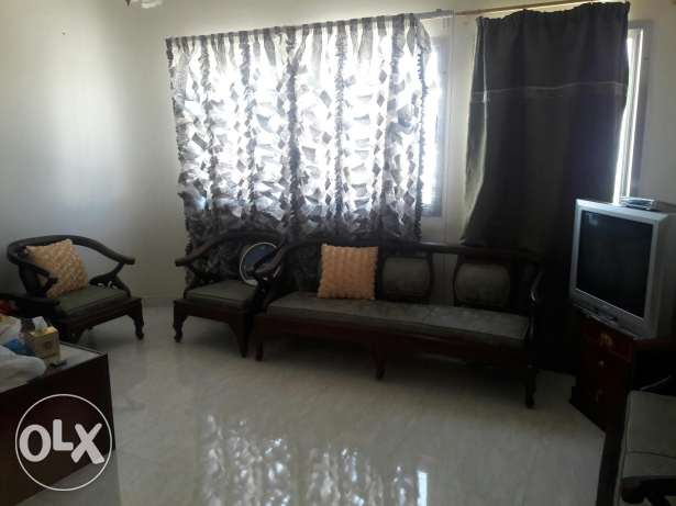 furnished bedroom in Alkhwair with attached bathroom