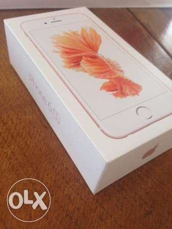 Apple iPhone 6s 64 gb rose gold color