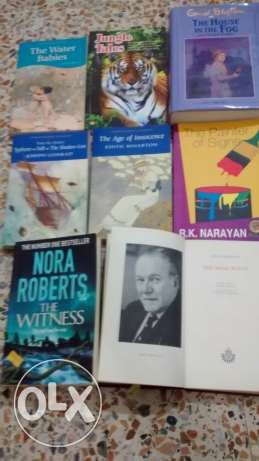 Assorted books