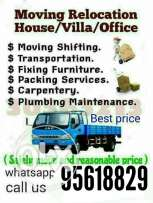 Muscat house Shifting professional