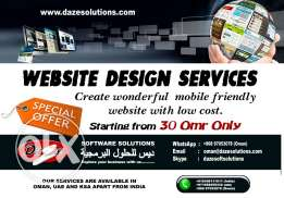 CREATE your business and personal websites for Just OMR 30