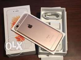 New apple mobile original clean sealed in box iphone 6s 64GB rose gold