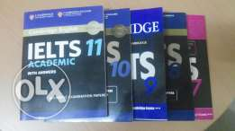 IELTS edition 7-11 latest Books