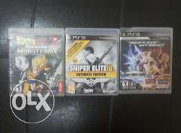 ps3 cds for 13 ro (all three)