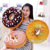 3d donuts pillow