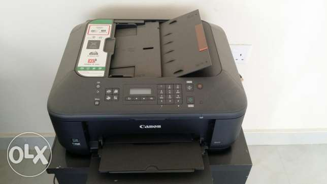 Office Table, chairs & printer *Good condition )