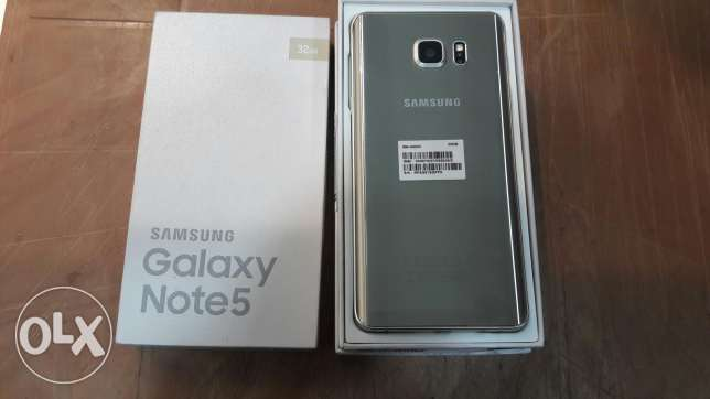 Samsung Note 5 32gb for Sale or exchange مسقط -  1
