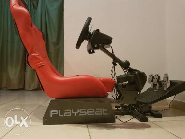 Playseat + logtic G920 driving force + logtic driving force shifter