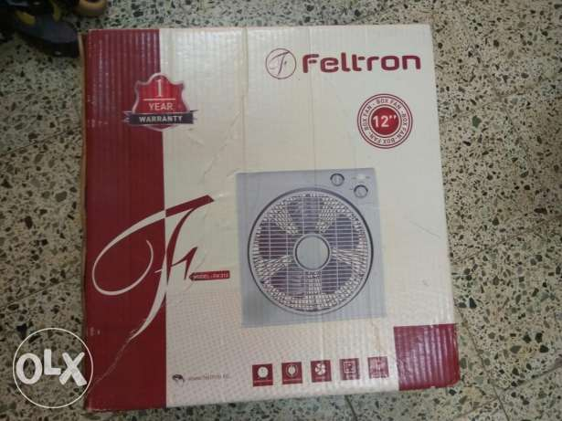 Feltron table box fan