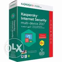 New! Kaspersky Internet Security 2017 1+1 User For 1 Year