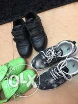 3Pair of used shoes ,1.5Ro for all
