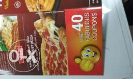 Coupons for pizzza