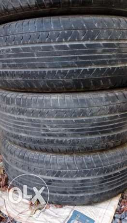 Toyota Corolla Used Tyre for Sale - 195/65 R15 91H - 4 nos