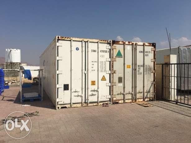 حاويات تبريد Refrigeration containers