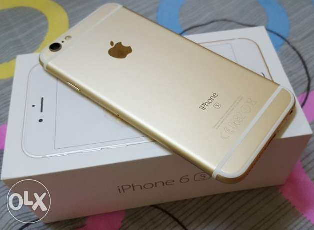 IPhone 6S (64GB) Gold (Excellent Condition) مسقط -  2