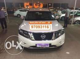 SUV car for daily rent Nissan Pathfinder 2016