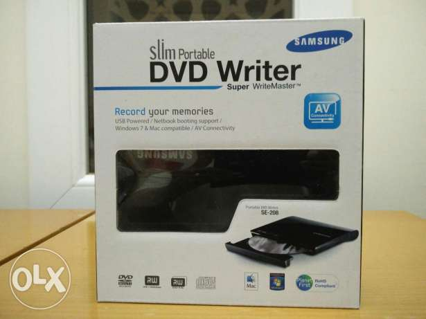 Portable DVD Writer