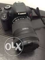 Canon 600D 18-135mm lenses for Sale in excellent condition