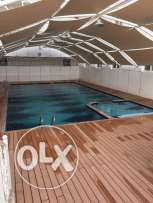 new furnished flat for rent in al ozeiba in al ozeiba mall with pool a