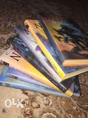 7 volumes of Chronicles of Narnia