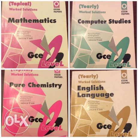 o levels past paper booklets