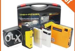 Jump Starter with car accessories.