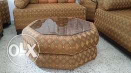 2+2+2 majlis set with corner tables and coffee table