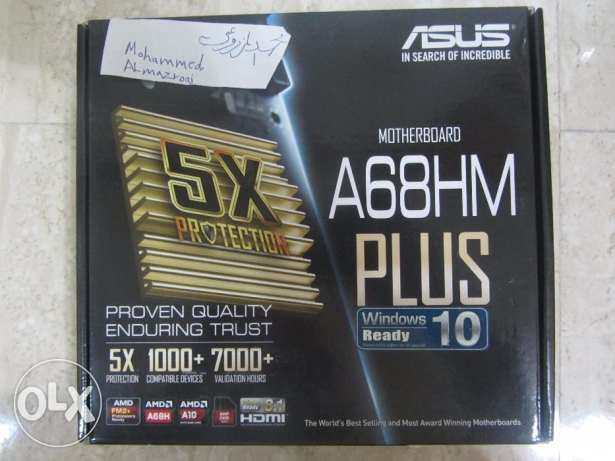 لوحة Motherboard : ASUS A68HM-PLUS الرستاق -  1