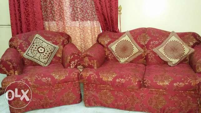 Seven seater sofa for immediate sale الغبرة الشمالية -  2