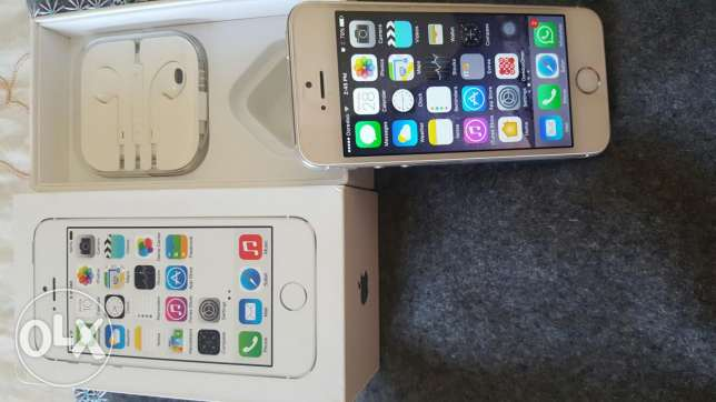 iphone 5S 32GB with Clear Coat مسقط -  1