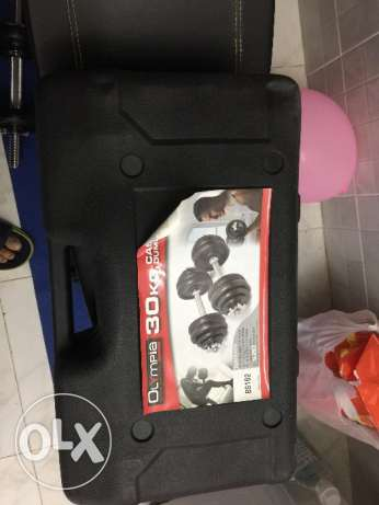 selling bench press and dumbbell مسقط -  2