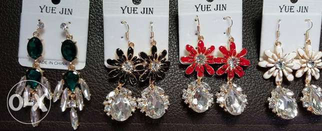 ear ring- WHOLESALE ONLY- 12 pieces