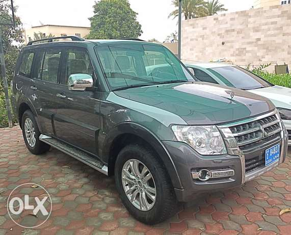 Mitsubishi Pajero 2016 new sale Gray is less than the market