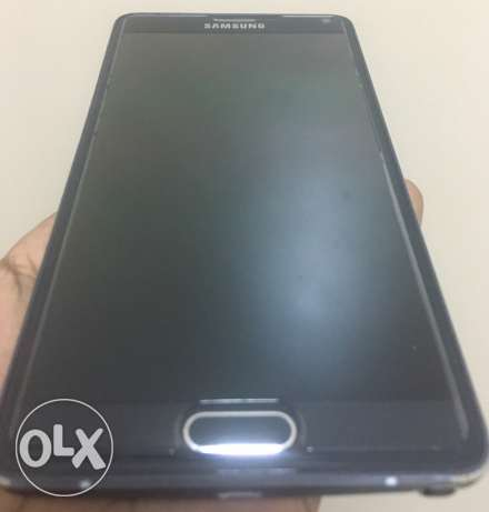 "Samsung Galaxy Note 4 (BLACK) N910C ""with warranty upto JULY"""