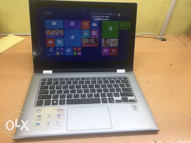 dell touch i5 8gbram 500gb hard desk laptop for sale only 130rials