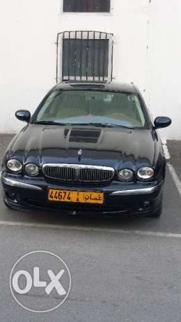 Jaguar x type, top of the range, V6, clean cat