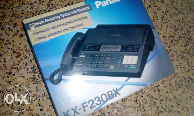 Panasonic fax and telephone answering system