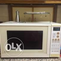 Sharp microwave with convection and grill