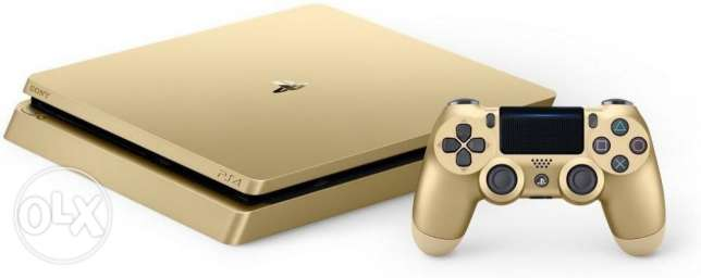 Gold Sony PS4