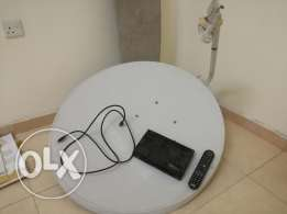HD Dish Receiver + Dish + Cable + Card