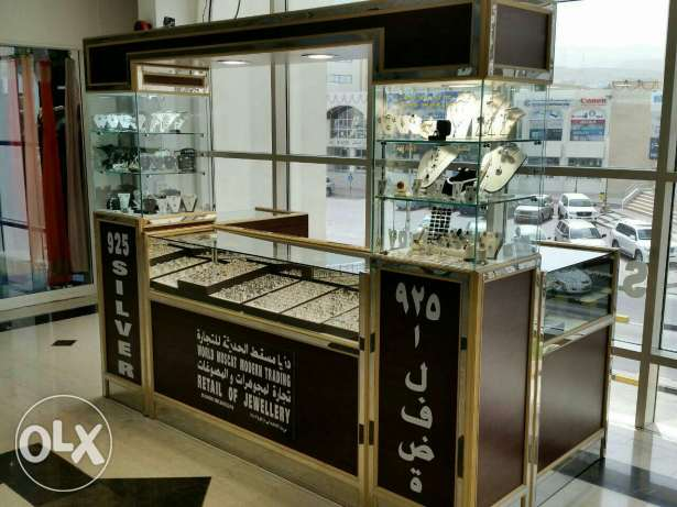 Silver jewellery kiosk for Sale السيب -  1