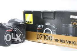 Nikon d7100 with two lenses 10/10 condition