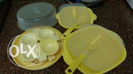 Microwave self idli pot, bowl and 6 storage box