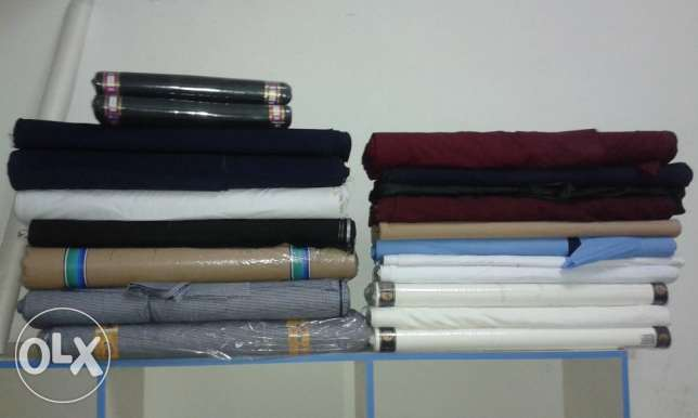 Thaitoray., Istem and Lucky tex cotton school uniform fabrics.