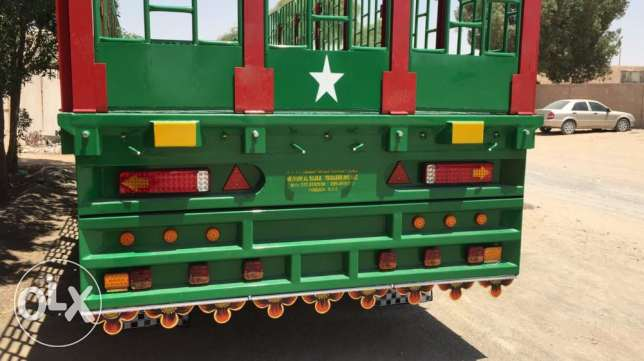 brand new flat bed trailers with five years warranty of chassis