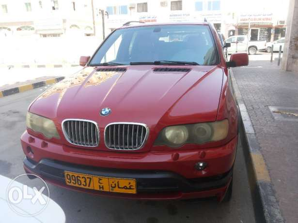 BMW X5 4.6is full OPTIONS agency Oman 2003 free ACCIDENT oreginal PAI مطرح -  2